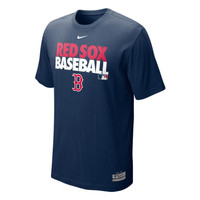 Boston Red Sox MLB AC Dri-Fit Cotton Graphic T-Shirt