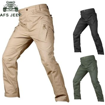 IX7 IX9 Tactical Pants Military Cargo Pants Men Casual Pant Work Trousers Army Style Pantalon Black Thin Combat Baggy Trousers