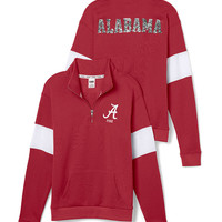 University of Alabama Bling Half-Zip Pullover