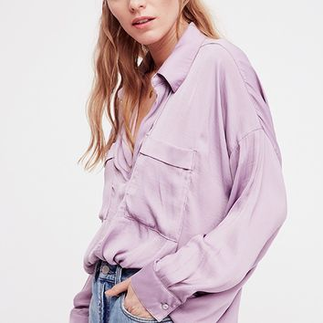 Starry Dreams Pullover - Frosted Violet by Free People