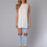 Simple Delight Tank - Off White