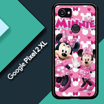 Minnie Mouse D0343 Google Pixel 2 XL Custom Case