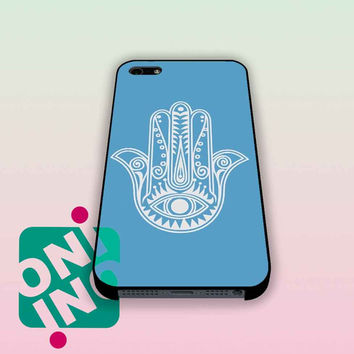 evil eye hamsa blue mint iPhone Case Cover | iPhone 4s | iPhone 5s | iPhone 5c | iPhone 6 | iPhone 6 Plus | Samsung Galaxy S3 | Samsung Galaxy S4 | Samsung Galaxy S5