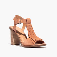 The Fey Fringe Sandal