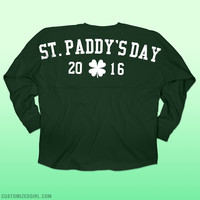 St Patricks Day 2016 Long Sleeve