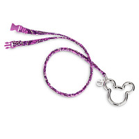 Plums Up Mickey Lanyard by Vera Bradley