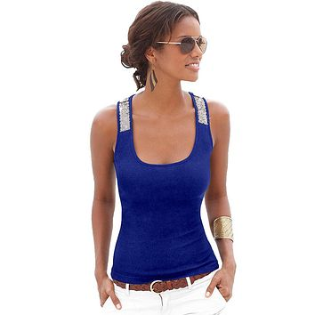 Summer Women Sexy Tank Tops Sleeveless Vest Blusas 2017 Fashion Casual Blouse Elegant Tops Tee Shirt Beading Plus Size Clothes