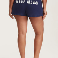 Sleep All Day Sleep Shorts