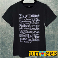 Magic spell Harry Potter Quotes Men T Shirt