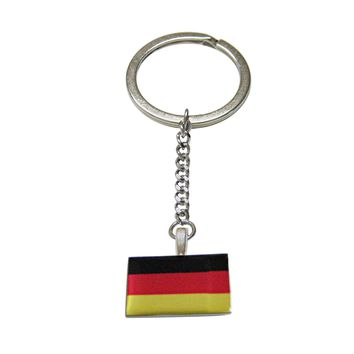 Germany Flag Pendant Keychain
