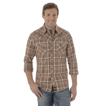 Wrangler Rock 47 Men's Long Sleeve Snap Shirt