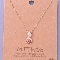 Penny Pineapple Necklace
