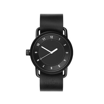 TID Watches — No.1 Black Black Watch