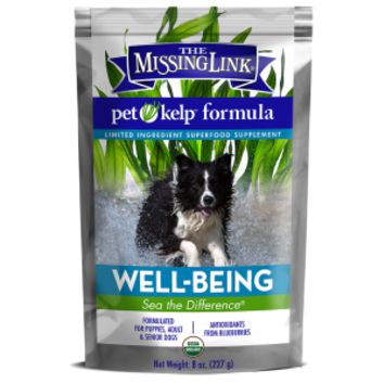 The Missing Link® Pet Kelp® Formula - Well-Being - Limited Ingredient Superfood Supplement For Dogs 8 oz | The Missing Link