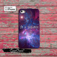I'm A Dreamer Galaxy Pink And Purple Cute Space Tumblr Inspired iPhone 4 and 4s Case and iPhone 5 and 5s and 5c Case iPhone 6 and 6 Plus +