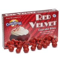 Red Velvet Cupcake Bites Theater Size Packs: 12-Piece Box