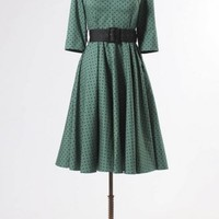 The Green Momo Dress by Hell Bunny - Dresses - Clothing