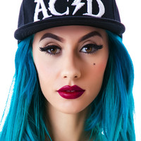 Bad Acid Kiss My Acid Snapback Cap Black One