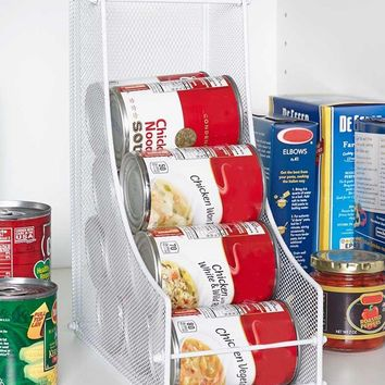 Soda Cans Vegetable or Soup Can or Canned Goods Organizer Dispenser