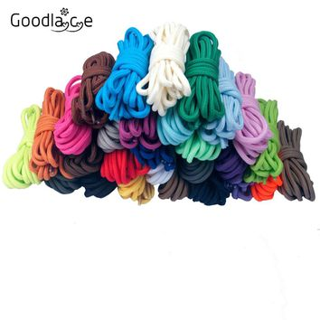 94.5 Inch/ 240cm Extra Long Round Strings Shoe Laces Shoelaces Shoestrings Cords Ropes for Boots