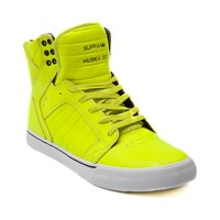 Mens Supra Skytop Skate Shoe, Neon Yellow | Journeys Shoes