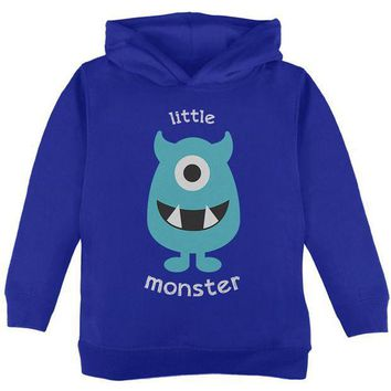 PEAPGQ9 Halloween Little Monster Toddler Hoodie