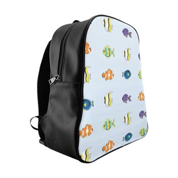 Tropical Fish School Backpack