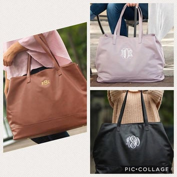 Monogrammed Weekender Bag, Cambridge Travel Bag, Monogrammed Luggage, Personalized, Bridesmaid Gifts, Destination Wedding, Bridal Shower