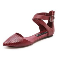 Steven Elina Ankle Strap Flats | SHOPBOP | Use Code: INTHEFAMILY25 for 25% Off