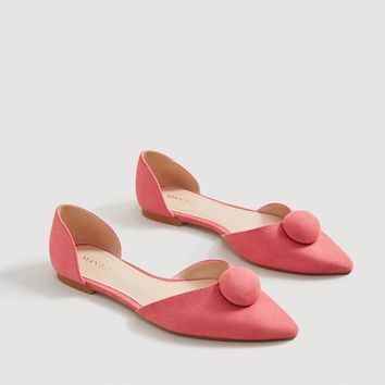 Pointed toe flat shoes - Woman | MANGO United Kingdom