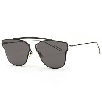 Maje Sunglasses - Black/Black