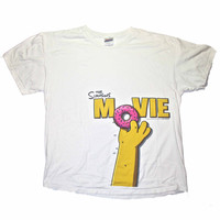 The Simpsons Movie Shirt Mens XL