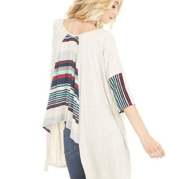 Serape Taylor Top
