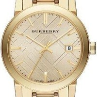 Burberry Light Champagne Dial Light Gold-tone Ladies Watch BU9134, Model: BU9134, Hand/Wrist Watch Store