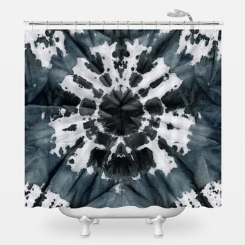 Dark 60's Shower Curtain