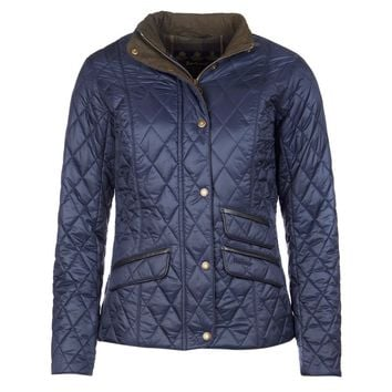 Augustus Quilted Jacket in Navy by Barbour - FINAL SALE