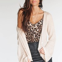 Open Road Bell Sleeve Knit Cardigan