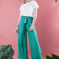 Silk Wide Leg Pants, oversized silk pants, wide leg trousers, summer pants, silk pants, stonewashed silk pants