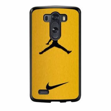 VONR3I Nike Air Jordan Golden Gold LG G3 Case