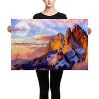 Artwork - Colorado Mountains - Fade Resistant Canvas