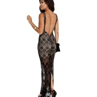 Sale-black Easy On The Eyes Lace Dress