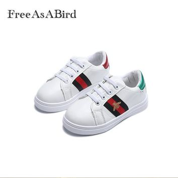 New Kids Sneakers For Boy Girl Spring Autumn Toddler Children's Baby White Casual Soft Flat Shoes Kids chaussure enfant shoes