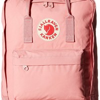 Fjallraven Kanken Durable Backpack Unisex Lovers' School Travel Bag( pink )