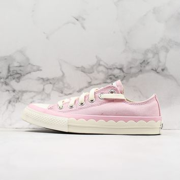 Converse All Star Chuck Taylor Low Top Pink Canvas Women Sneaker - Best Deal Online