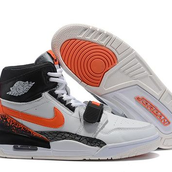 Air Jordan Legacy 312 NRG - White/Orange/Black