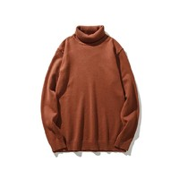 Autumn Winter Turtleneck Sweater Men 2017 Knit High Elastic Jumper Men's Sweaters And Pullovers Male Tricot Pull Homme Tops