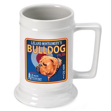 16oz. Ceramic Beer Stein - Ale