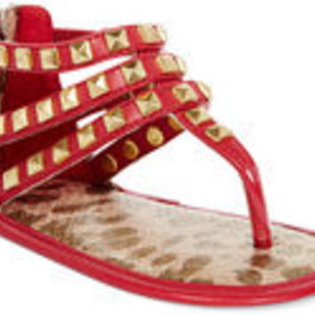 Michael Kors Baby Joy Kris Girl's Size 1 Red Sandals