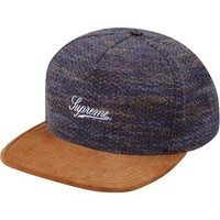 Supreme: Blanket Stripe 5-Panel - Purple