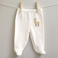 Llama baby pants size 3 month - 9 months